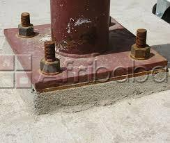 Machine base plate anchoring and grouting services in kenya