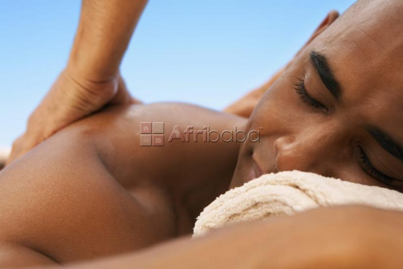 Female Ebony masseuse in Nairobi