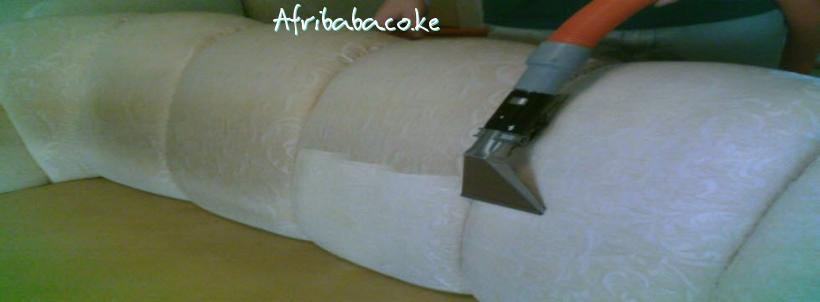 Soft Touch Carpets, Sofas and Vehicles seats dry and steam cleaning Mombasa.