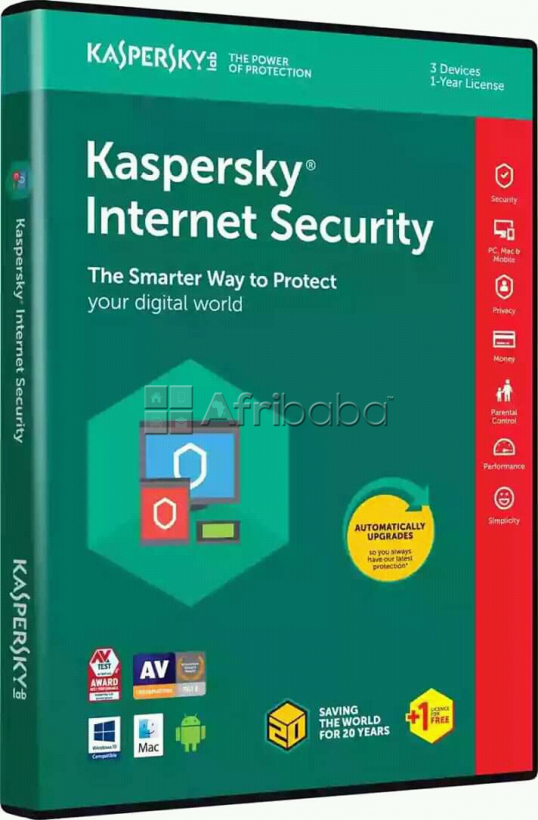 Kaspersky 4 user Internet Security