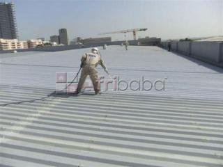 We supply and apply Bituminous Aluminum coating