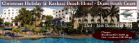 Christmas Holiday @ Kaskazi Beach Hotel 3 Nights 4 Days 23rd –26th Dec 2015