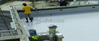 Acrylic and geofabric waterproofing system experts in Nairobi