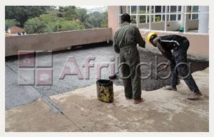 We supply and apply rubberisez emulsions for waterprooofing