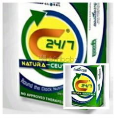Natural c24/7 dietary supplement.