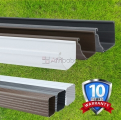 PVC Plastic gutters suppliers in kenya