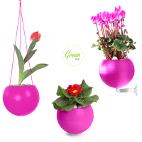 Greenbo GreenBall Planter - 1 Planter, 3 Hanging Options
