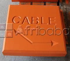 Cable marker mows