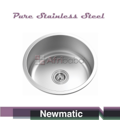 Newmatic Single 45cm Stainless Steel Kitchen Sink #1