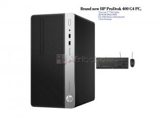 Brand new HP ProDesk 400 G4 PC 7gen core i7 3.4ghz mouse and keyboard DOS