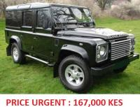 2011 Land Rover Defender 110 XS 2.4 TDCi Utility BLACK ONE OWNER