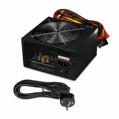 Gamer series 500watts gaming power supply with pcie 6pin connector
