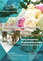 FLOWER ARRANGEMENT AND DECOR TRAINING