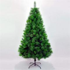 150Cm+160T Green Pine Christmas Tree, W/metal Stand