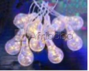 3m led string light with 10 bulbs, each bulb with 5 leds