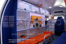 Ambulance manufacturing unit in United Arab Emirates