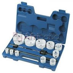 Bimetalic hole saw kit