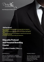 etiquette ,protocol and personal Branding