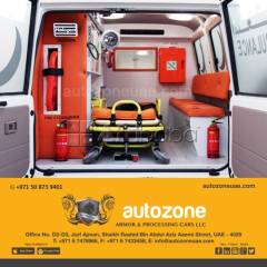 Ambulances Armored vehicle and customized vehicles