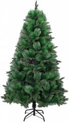 180Cm+260T, Green Pine Christmas Tree W/Metal Stand