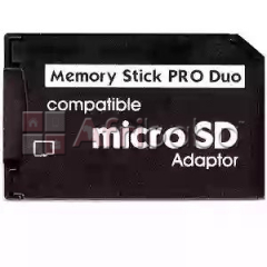 Microsd to PSP Pro Duo adapter