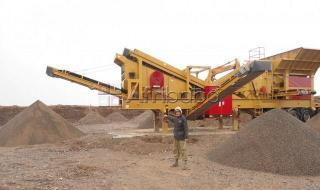 Mobile Crushing and Screening Plant Closed Circuit Type Dragon Machinery