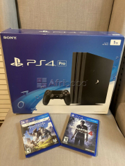 Play station 4 pro 1tb