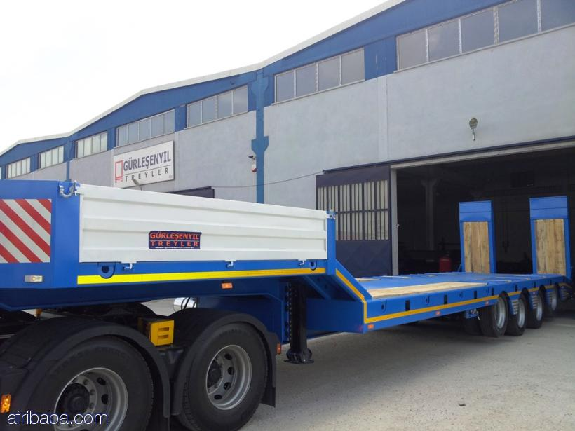 Front Load Lowbed Semi Trailer Series