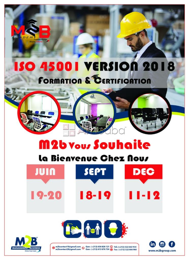 Formation iso 45 001 vs 2018
