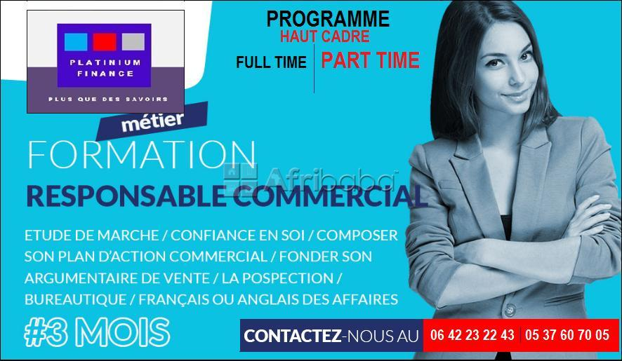 Formation complete – responsable commercial