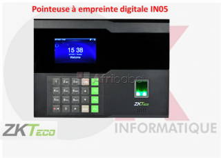 Pointeuse à empreinte digitale in05
