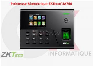 Pointeuse Biométrique-ZKTeco/UA760