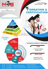 Certification en Excellence Opérationnelle (Lean management et Lean Si