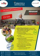 Formation advanced haccp