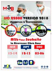 Formation iso 22 000 version 2018