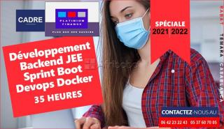 Formation complete  - développement backend jee sprint boot