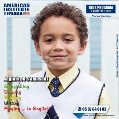Kid's english with american center temara