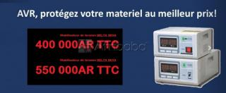 Stabilisateurs de tension 3 000 / 5 000 va