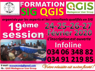 Formation sig qgis 19ème session