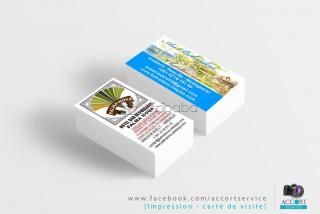 Conception & impression business card