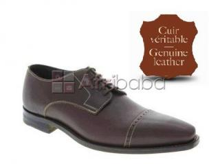 Derbies homme cuir