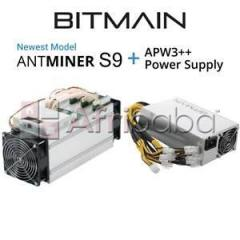 Selling bitmain antminer s9 14th with psu/ chat