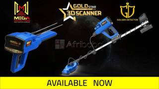 Gold Star 3D Scanner is a multi-system and multi-purpose metal detecto