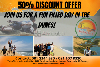 Sandwich harbour tours ( guided & guided self-drive) from walvis bay