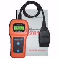 U281 OBD2 DIAGNOSTIC SCANNER, CODE READER, ENGINE, AIRBAG, ABS RESET TOOLS