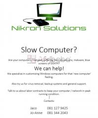 Nikron solutions computer retail & support