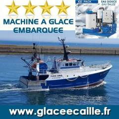 Flake ice machine for fishing industries and others