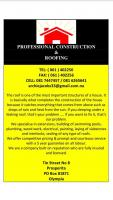 Professional Construction and Roofing