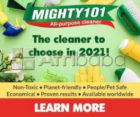 Mighty101 - It Really Cleans Everything Safely!