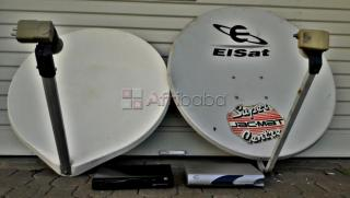 DSTV decoder with dish